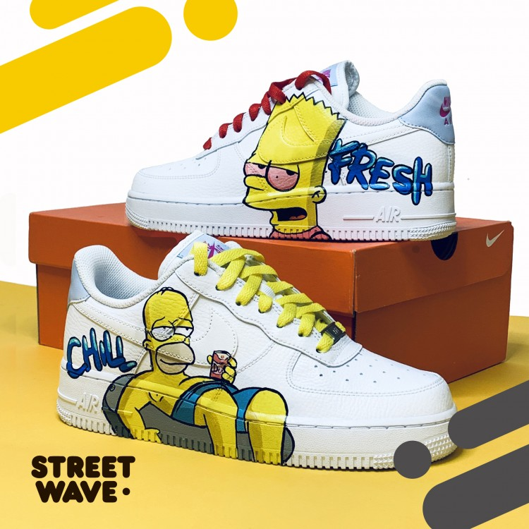 Кроссовки Nike Air Force 1 Low // Bart&Gomer //