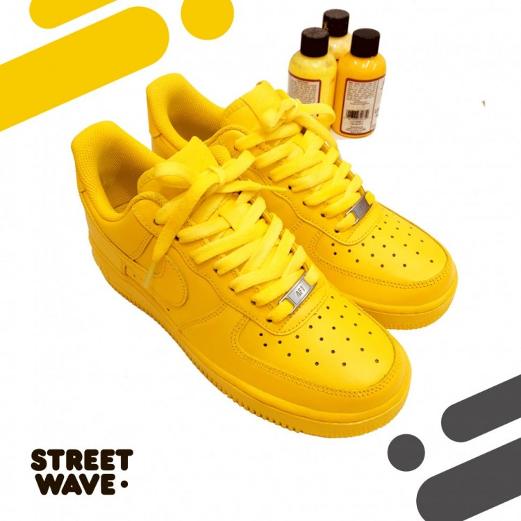 Кроссовки Nike AF1 Low // Yellow dream //
