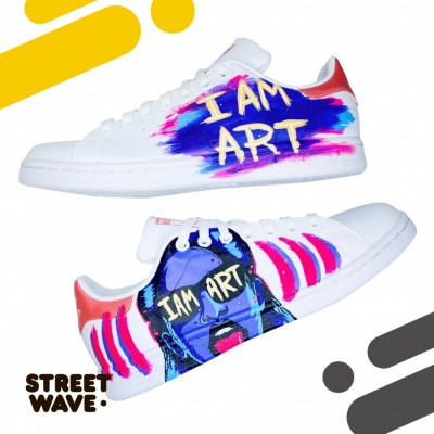 Кроссовки Adidas Stan Smith // I AM ART //